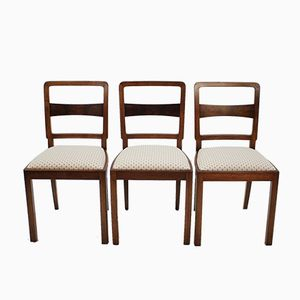 Czech Chairs, 1950s, Set of 3