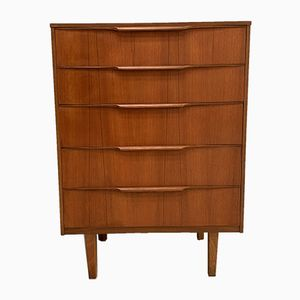 Vintage Teak Chest of Drawers from Austinsuite, 1960s