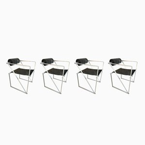 602 Seconda Chairs by Mario Botta for Alias, 1982, Set of 4