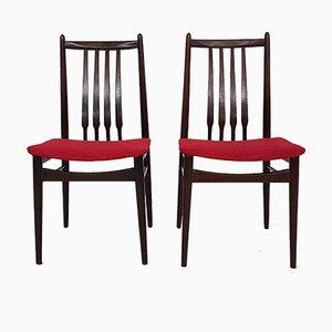 Vintage Stühle mit Sprossenlehnen, 2er Set