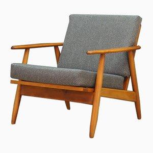 Dänischer Sessel mit Gestell aus Teak, 1970er