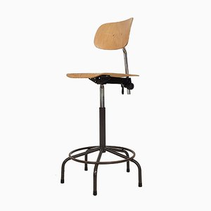 Industrial Drawing Stool by Friso Kramer for Ahrend De Cirkel, 1960s