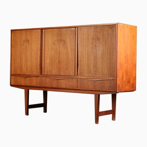 Vintage Danish Highboard by E.W. Bach