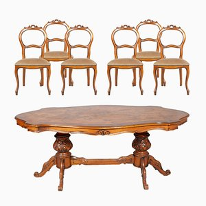 Set da pranzo barocco vintage, Italia