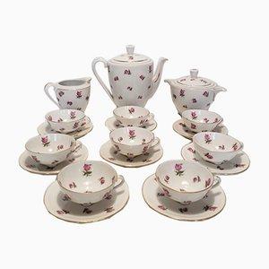 Limoges Porcelain Tea Set from Georges Boyer, 1950s