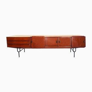 Langes italienisches Mid-Century Sideboard