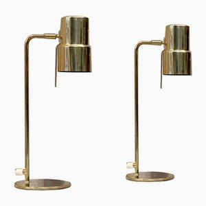 Lampes de Bureau Modèle B-195 par Hans-Agne Jakobsson pour Hans-Agne Jakobsson AB Markaryd, 1960, Set de 2