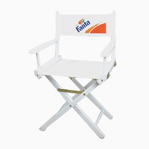 German Folding Director's Chair with Fanta Logo, 1980s
