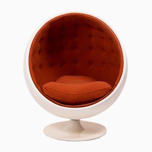 Sedia sferica vintage, anni '60