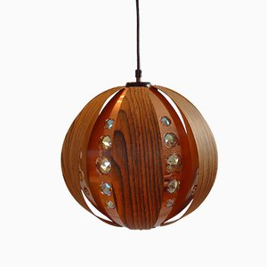 Lampe à Suspension par Werner Schou pour Coronell Elektro, 1960s