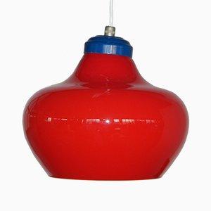 Lámpara colgante italiana, años 60