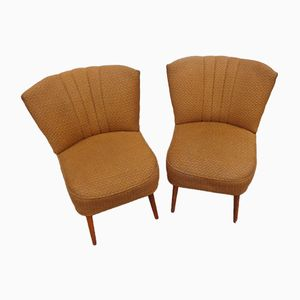 Vintage French Lounge Chairs, 1960s, Set of 2