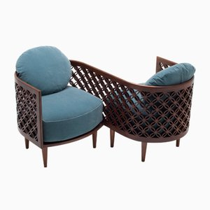 Arabesque Love Seat by Nada Debs