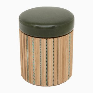Funquetry Pleated Stool by Nada Debs