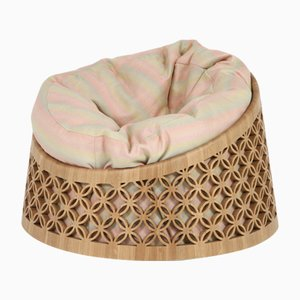 Arabesque Bean Bag Chair by Nada Debs