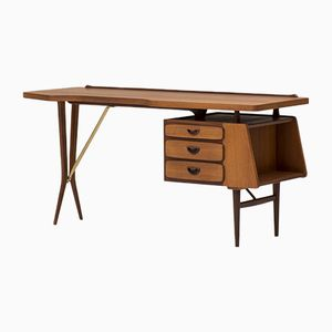 Schreibtisch von Louis van Teeffelen für Wébé, 1950er