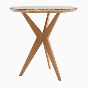 Vintage Tripod Table by Nada Debs