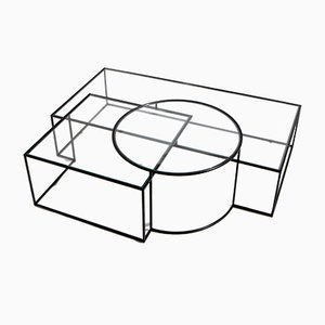 Tavolo basso Geometrik di Nada Debs