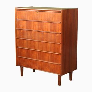 Danish Mid-Century Chest of Drawers, 1950s