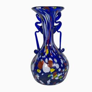 Vaso Art Nouveau vintage colorato di Fratelli Toso