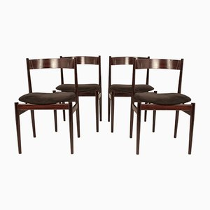 Vintage Italian Dining Chairs by Gianfranco Frattini for Cassina, Set 4
