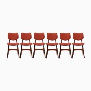 Mid-Century Dutch Dining Chairs from Pynock, 1960s, Set of 6