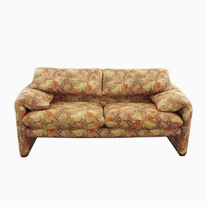 2-Sitzer Sofa von Vico Magistretti für Cassina, 1980er