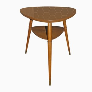 Tavolo da cocktail Mid-Century in formica, anni '60