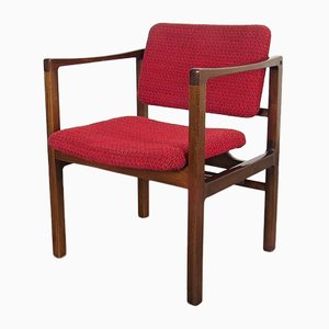 Vintage Red Side Chair
