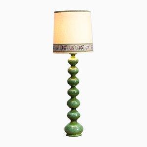 Lampada da terra in ceramica di Kaiser Leuchten, anni '60