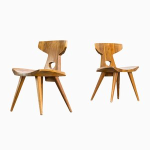 Dining Chairs by Jacob Kielland-Brandt for I. Christiansen, 1960s, set of 2