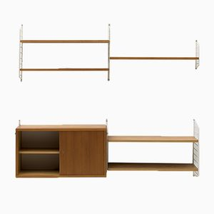 Mid-Century Wall Unit by Nisse Strinning, 1950s