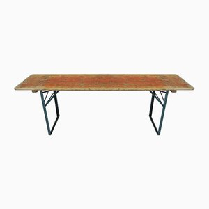 Industrial Folding Table, 1950s