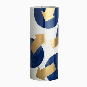 Vase N°8 Bleu Cobalt par Vincenzo Cutugno