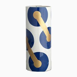 Vaso nr. 6 blu cobalto di Vincenzo Cutugno