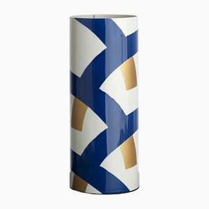 Vaso nr. 5 blu cobalto di Vincenzo Cutugno