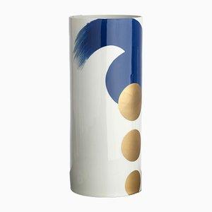 Vase N°4 Bleu Cobalt par Vincenzo Cutugno