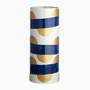Vaso nr. 3 blu cobalto di Vincenzo Cutugno
