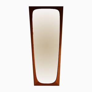 Espejo danés de teca, años 60