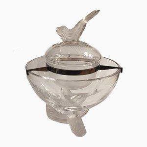 Piatto da caviale Igor in cristallo di René Lalique, 1969
