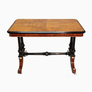 Victorian Amboyna and Ebonised Side Table from Gillows, 1870s