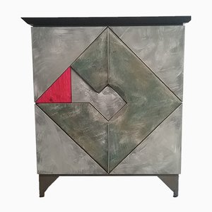 Double Sided Abstract Cabinet by Martin Nijman, 1989