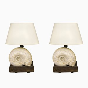 French Table Lamps by Jean-Charles Moreux, 1940s, Set of 2