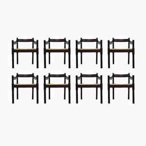 Carimate Chairs by Vico Magistretti for Cassina, 1960s, Set of 8
