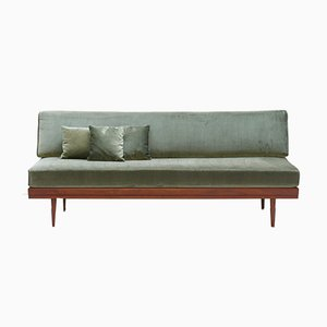 Mid-Century Teak Antimott Daybed by Walter Knoll, 1960s