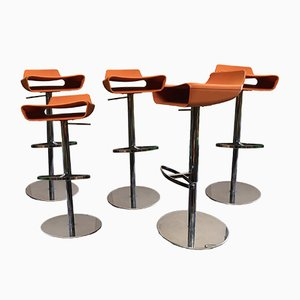 Italian Stools by Alter & Citton for Ciacci, 1990s, Set of 5