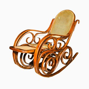 Beech Rocking Chair, 1920s