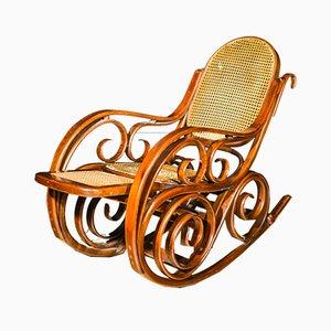Rocking Chair en Hêtre, 1920s