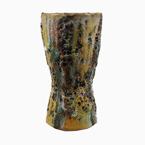 Mid-Century Fat Lava Vase from Scheurich