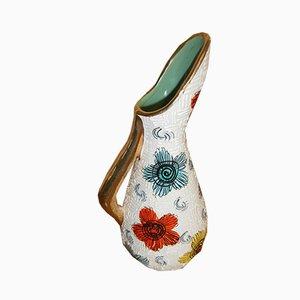 Vintage Serafino Vase von Volpi für De Ruta